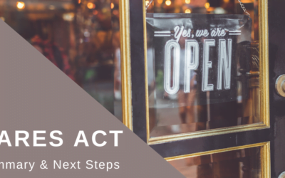 CARES Act Summary & Small Business Relief Programs